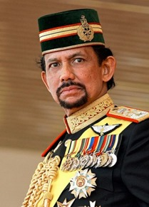 Sultan of Brunei Net Worth of Top Ten Most Popular Politicians