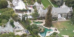 Hugh Hefner Richest Hollywood Actors with Big Houses