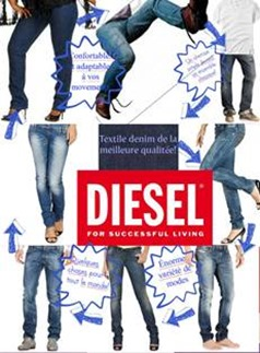 Diesel Most Famous Fashion Websites Of 2014
