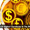 Top 10 Highest Currencies In The World In 2015