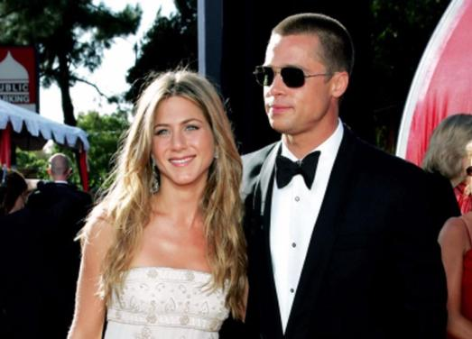 3. brad pitt and jennifer anniston