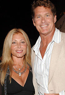 7. David Hsselhoff and pamela bach