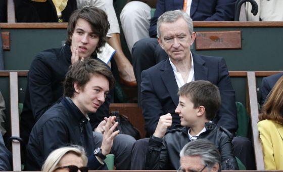 2 Bernard Arnault and family