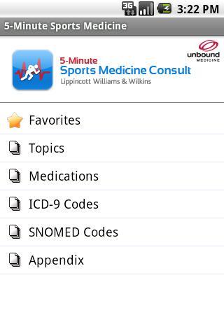 5 Minute Sport Medicine