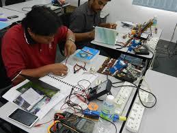 . Electronic repairing