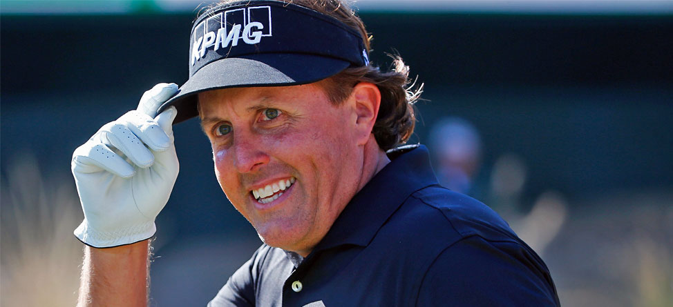 Phil Mickelson adertisment