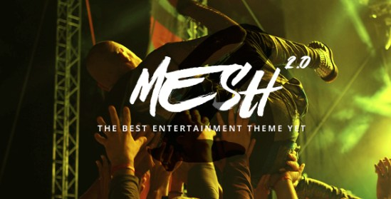 Mesh wordpress themes