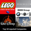 Top 10 Most Reputed Companies In 2017
