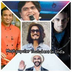 Best youtubers in India