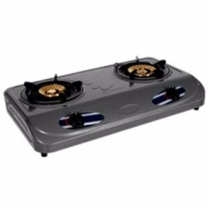 Haier Thermocool Table Top Gas Cooker - 2 Hobs teflon