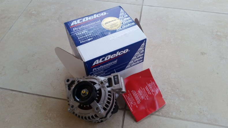 Vue Alternator Replacement