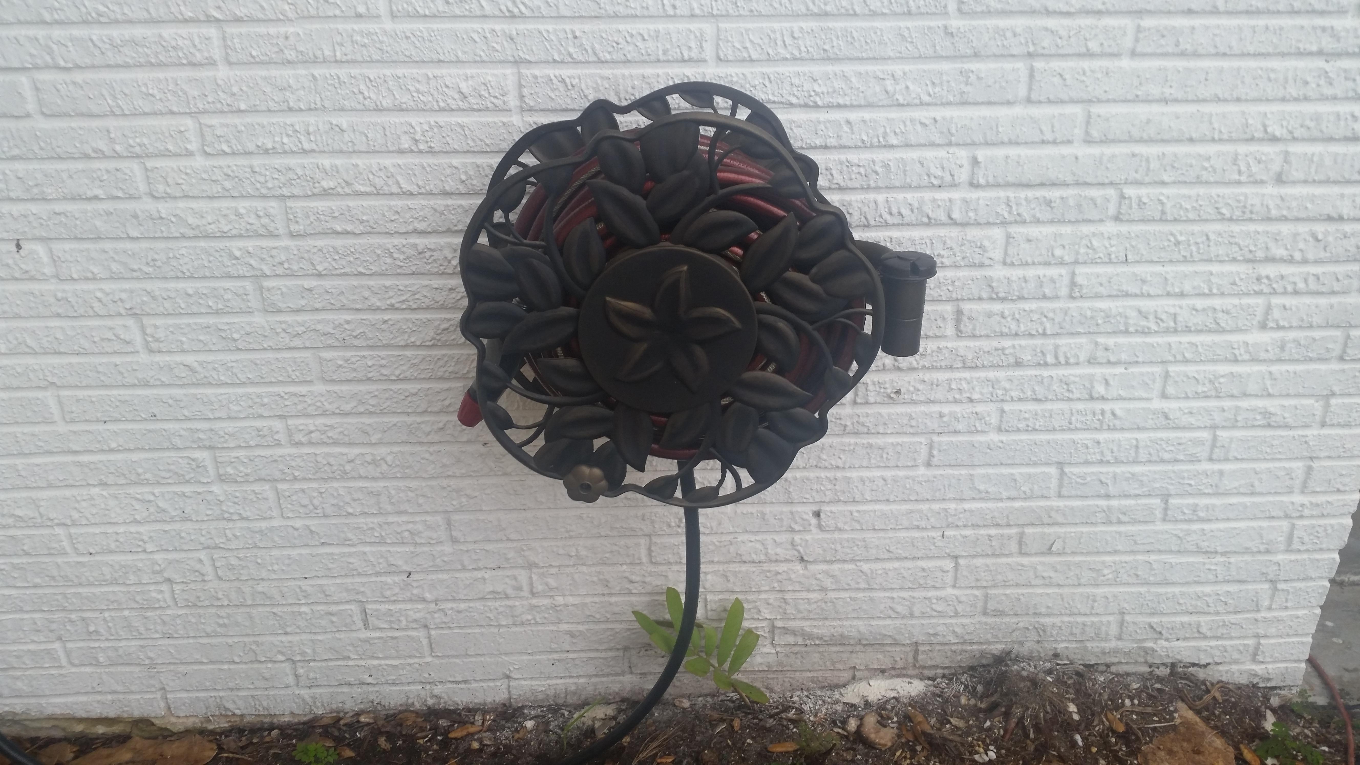Installing a Garden Hose Reel