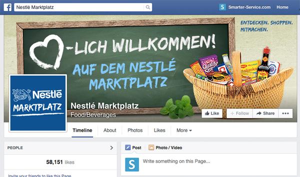 Best Practice: Nestlé Marktplatz