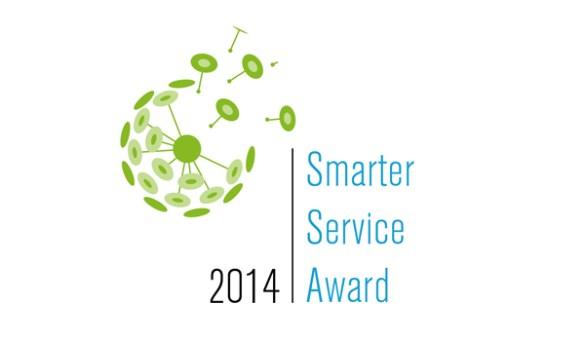 Smarter Service Award 2014 Logo