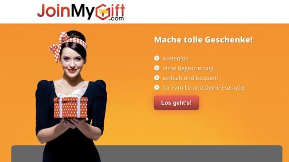 """Smarter Service Award: Gewinner in der Kategorie """"Einfach nützlich"""" - JoinMyGift"""