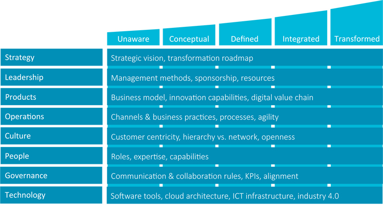 Das Digital Maturity Model - Teil 1