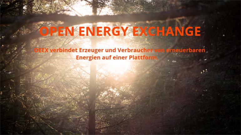 OEEX: Erneuerbare Energie aus der Nachbarschaft