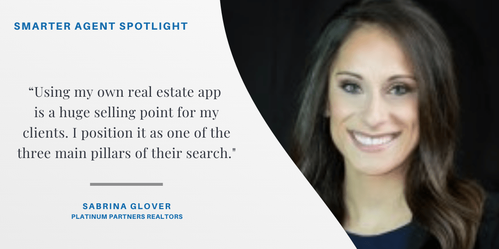 Sabrina Glover Dominates both Urban and Suburban markets using her mobile real estate app.