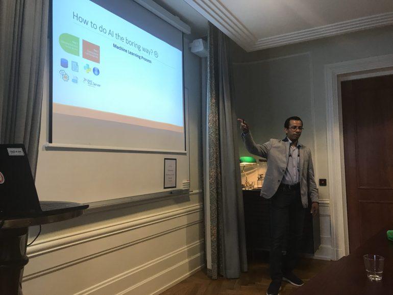 Cloud AI Azure Stockholm Meetup