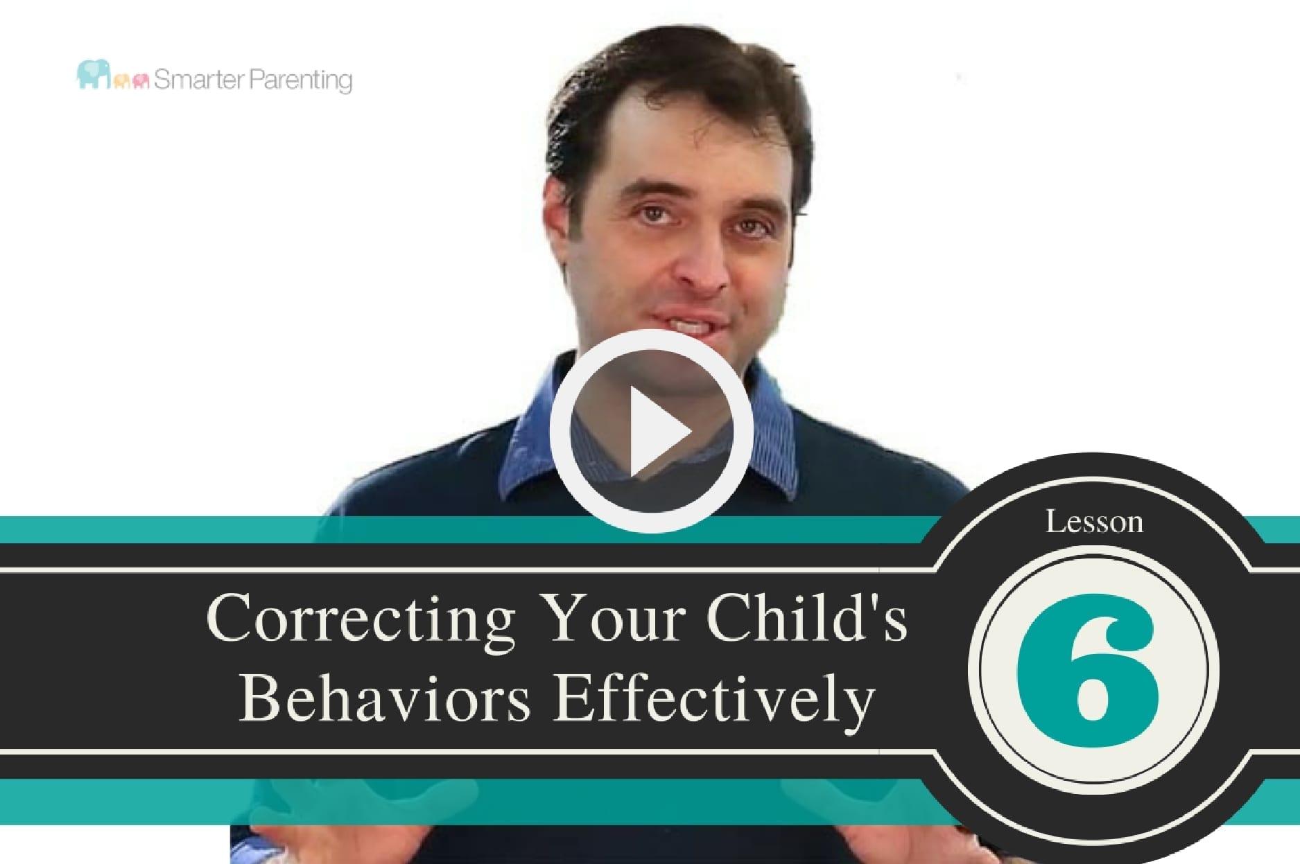 Correcting Behaviors