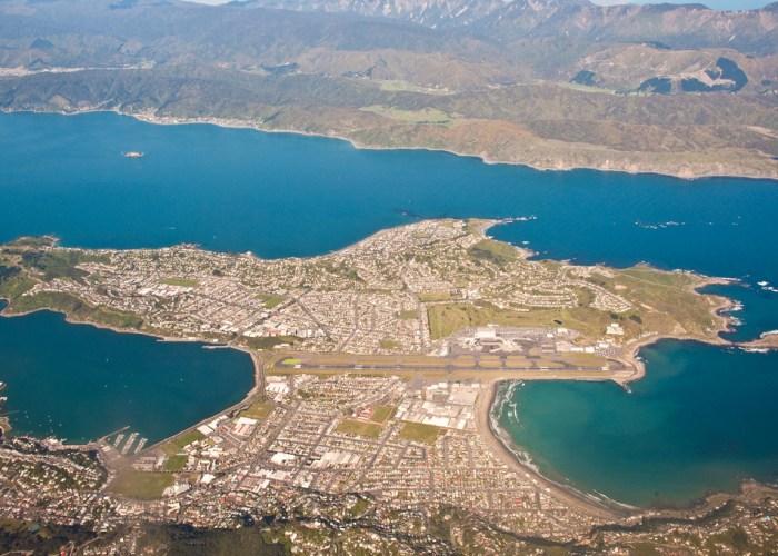 Wellington International Airport, Wellington, New Zealand