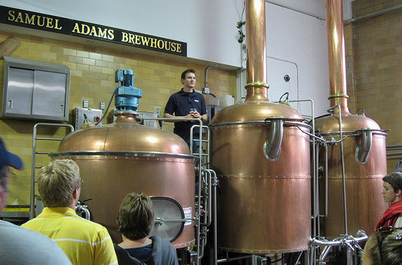 Samuel Adams Brewery, Boston, Massachusetts