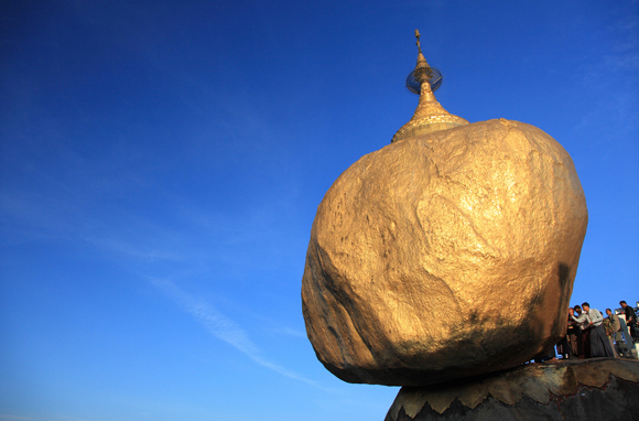 Kyaikhtiyo Pagoda/Golden Rock, Myanmar