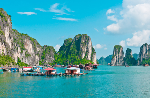 Ha Long Bay Floating Villages, Vietnam