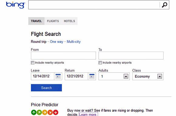 Bing Travel