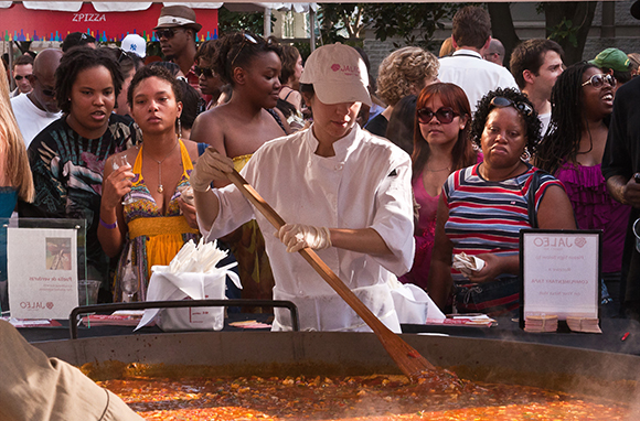 Attend a Food Festival