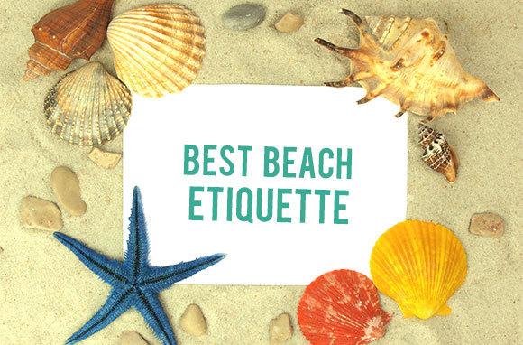 Beach Etiquette