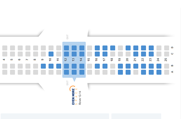 Show Us All the Available Seats on the Seat Map