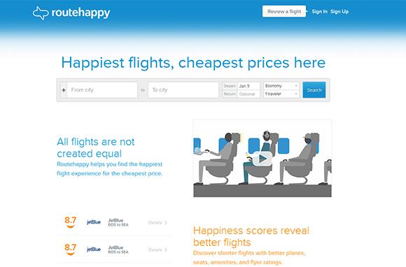 Routehappy: Fly Happy