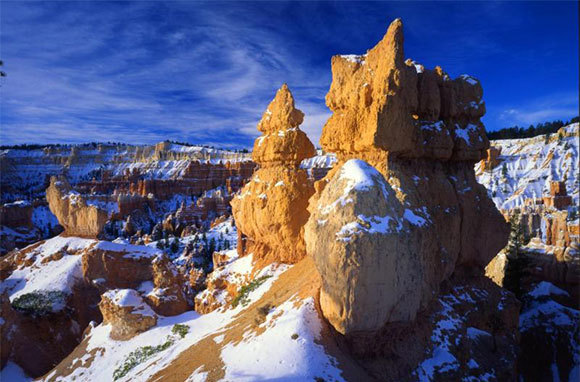 National Parks in Winter