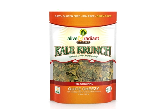 Alive & Radiant Foods Quite Cheezy Kale Krunch