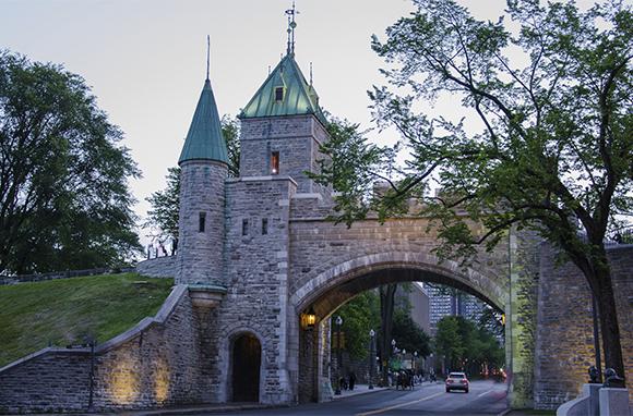Old Quebec Wall, Quebec City