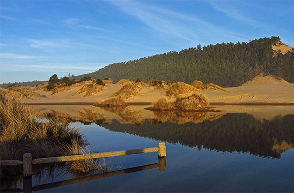 Sand-Dune Camping, Florence, Oregon