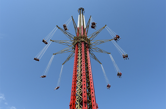 New England SkyScreamer, Six Flags New England, Agawam, Massachusetts