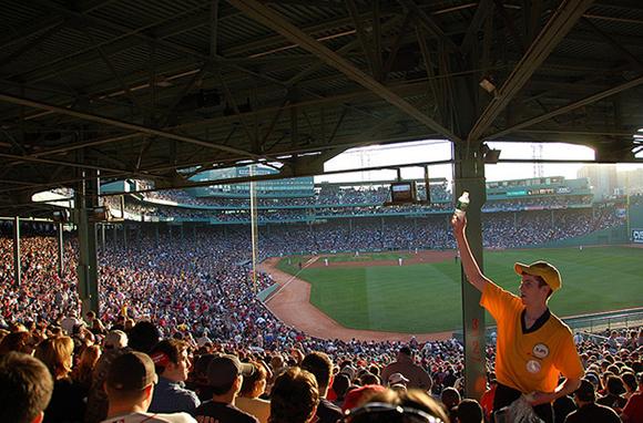 Baseball at Fenway Park, Boston, Massachusetts