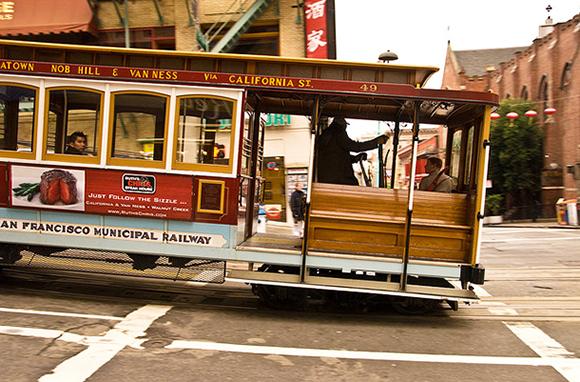 Cable Cars, San Francisco, California