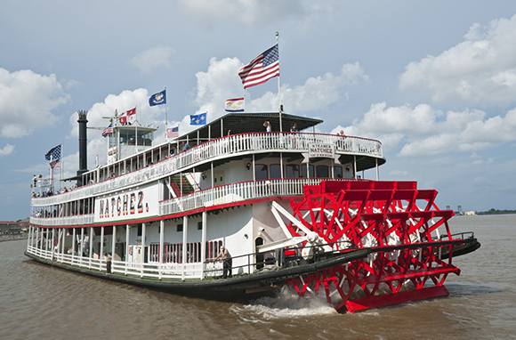 Paddlewheel Riverboat Cruise, Ohio or Mississippi River