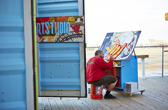 artBOX, Morey's Pier, New Jersey
