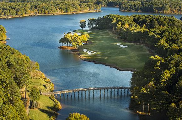 Lake Oconee and Lake Sinclair, Lake Country, Georgia