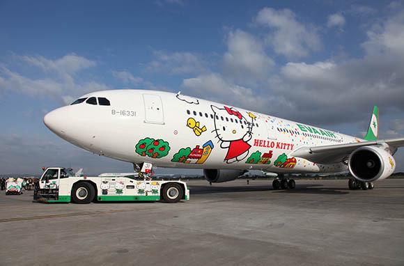 EVA Airways: Hello Kitty Everything