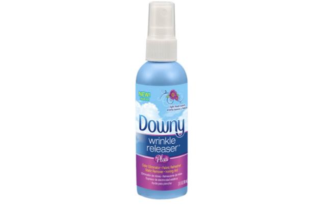 Downy wrinkle releaser.