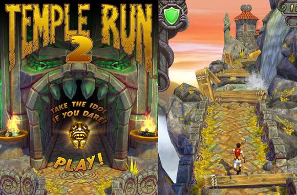 Temple Run and Temple Run 2