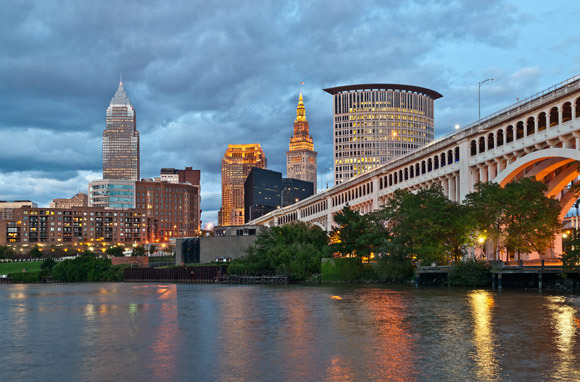 Boston to Cleveland on JetBlue