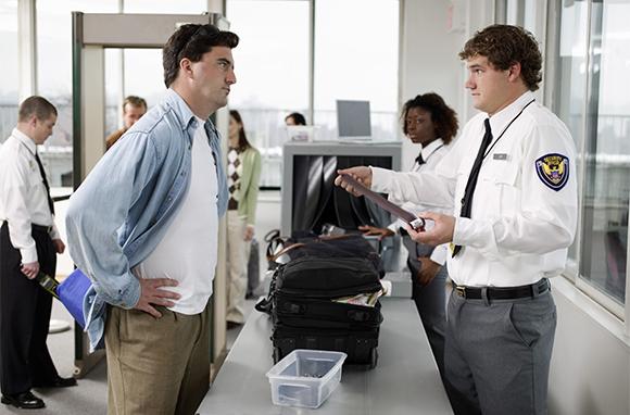 Be Rude to TSA Agents