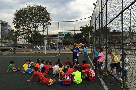 Teach Sports in an Underprivileged Community