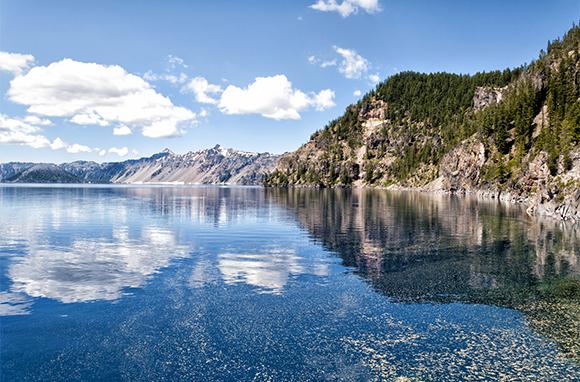 Summer: Crater Lake National Park, Oregon